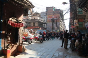 Old Kathmandu City is only 3 minutes walk from our doorstep!